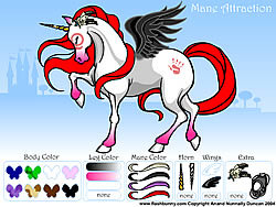 मुफ्त खेल खेलें Mane Attraction Pony Dress up