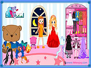 Play Sue friends dress up Game