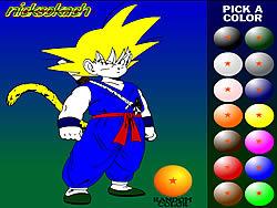 Gioca gratuitamente a Dragon Ball Z Painting