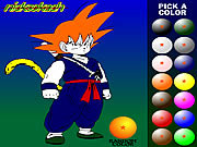 juego Dragon Ball Z Painting