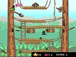मुफ्त खेल खेलें Monkey Menace