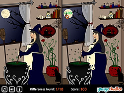 Spot The Difference - Halloween game