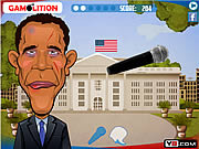 Obama vs Romney Slaphaton لعبة