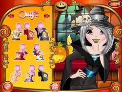 Spielen Sie das Gratis-Spiel  Halloween Makeover