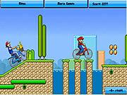 Play Toon bmx race Game