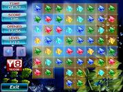 Play Tiny fish match-3 Game