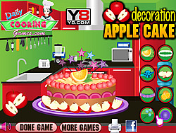 Apple Cake Decoration game