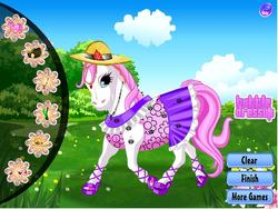 Happy pony dress up game
