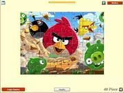 Play Angry birds - jigsaw Game