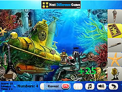 Colored Fish. Find objects game
