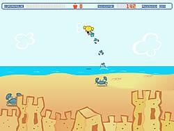 मुफ्त खेल खेलें Powerpuff Girls: Sand Castle Hassle