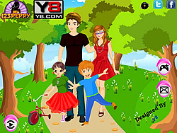 Family Picnic Dress Up game
