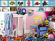Modern Toys Room Hidden Object game
