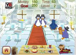 Penguin New Restaurant game