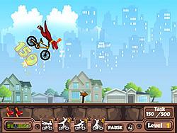 Rex Stunts game