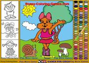 Play Coloring book kids Game