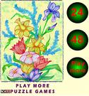 Play Jigsaw puzzle with flowers Game