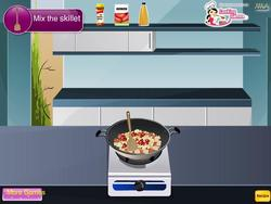Italian Skillet Chicken game