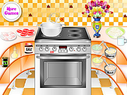 Cook Delicious Pizza game