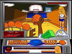 Basketball Rally game