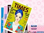 Magazine Model Make Up game
