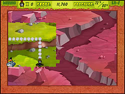 Gioca gratuitamente a Marvin The Martian Land Grab