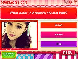 juego Quiz- Do you know Ariana Grande?