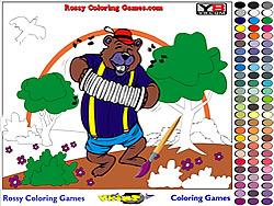 Bear Coloring game