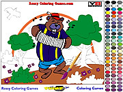 Bear Coloring game