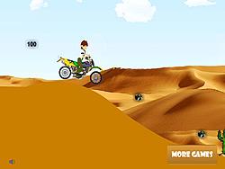 Ben 10 Moto Trip game