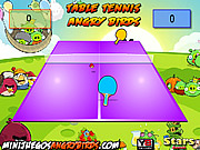 Play Table tennis angry birds Game Online