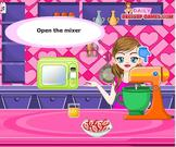 Play Orange glazed strawberry cupcakes game Game