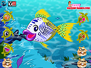 Juega al juego gratis Johnny The Fish Dressup