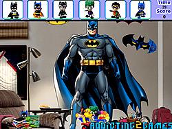 Batman Bedroom Hidden Object game