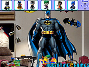 Play Batman bedroom hidden object Game