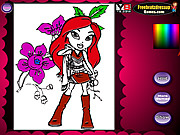 Play Bratz coloring 2 Game
