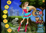 Play Winx flora style Game