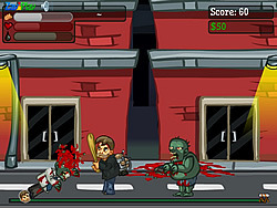 Jetpacks and Zombies game