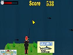 Sharks Fishing game