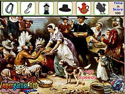 Thanksgiving Hidden Objects game