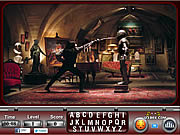 V for Vendetta Find the Alphabets game
