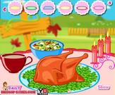 Play Thanksgiving turkey decorating Game