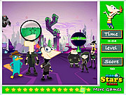 Phineas and Ferb Hidden Stars game