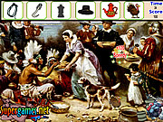 Play Thanksgiving hidden object Game