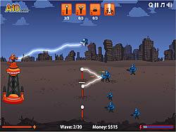 Tesla Defense game
