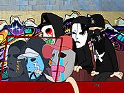 Watch free cartoon Hollywood Undead