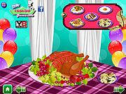 Game hoạt hình Lễ Tạ Ơn thực phẩm Trang sức