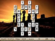 Chơi trò chơi miễn phí Mysterious Sculptures Mahjong