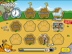 Monkey Puzzles game
