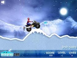 Gioca gratuitamente a Spiderman Snow Scooter